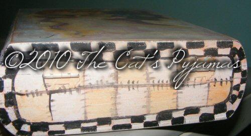Painted Cigar Box