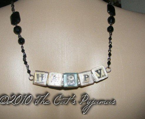 Happy Necklace