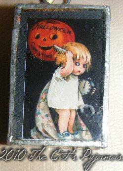 Scary Halloween pendant