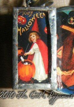 Halloween Witch pendant