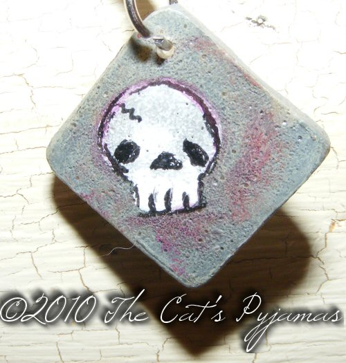 Cute skull pendant