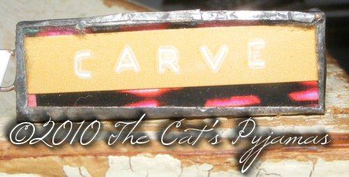 Carve Pendant