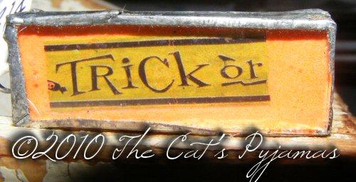 Trick or Treat pendant set