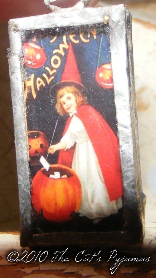 Little Halloween Witch pendant