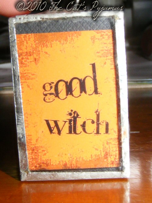 Good Witch/Bad Witch pendant