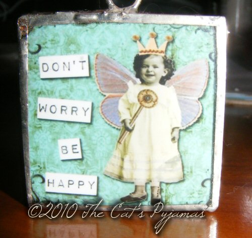 Don't Worry Be Happy Pendant