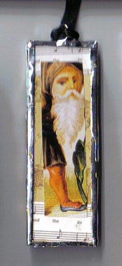 Old World Santa Pendant