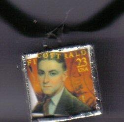F Scott Fitzgerald Pendant