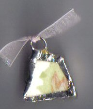 Vintage Virginia Rose pendant