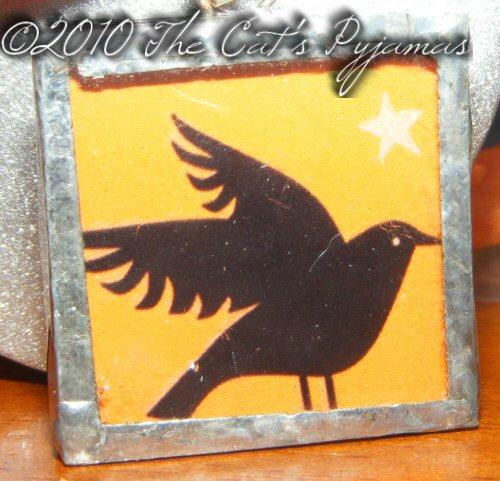 Black Crow pendant