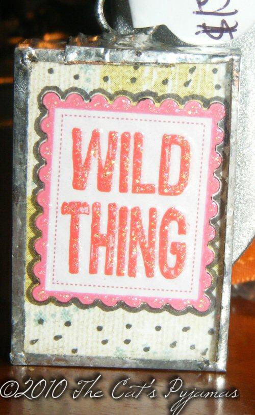 Wild Thing pendant