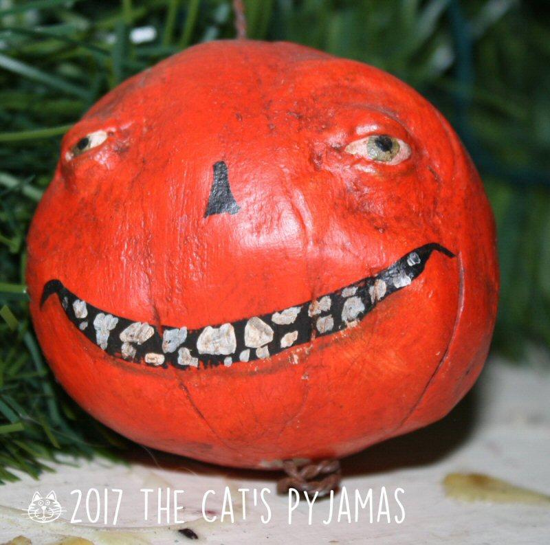 Creepy Punkin ornament