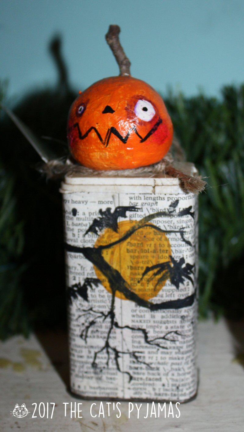 HodgePodge Full moon Jack-o-Lantern