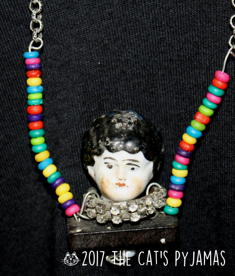 Antique Doll necklace
