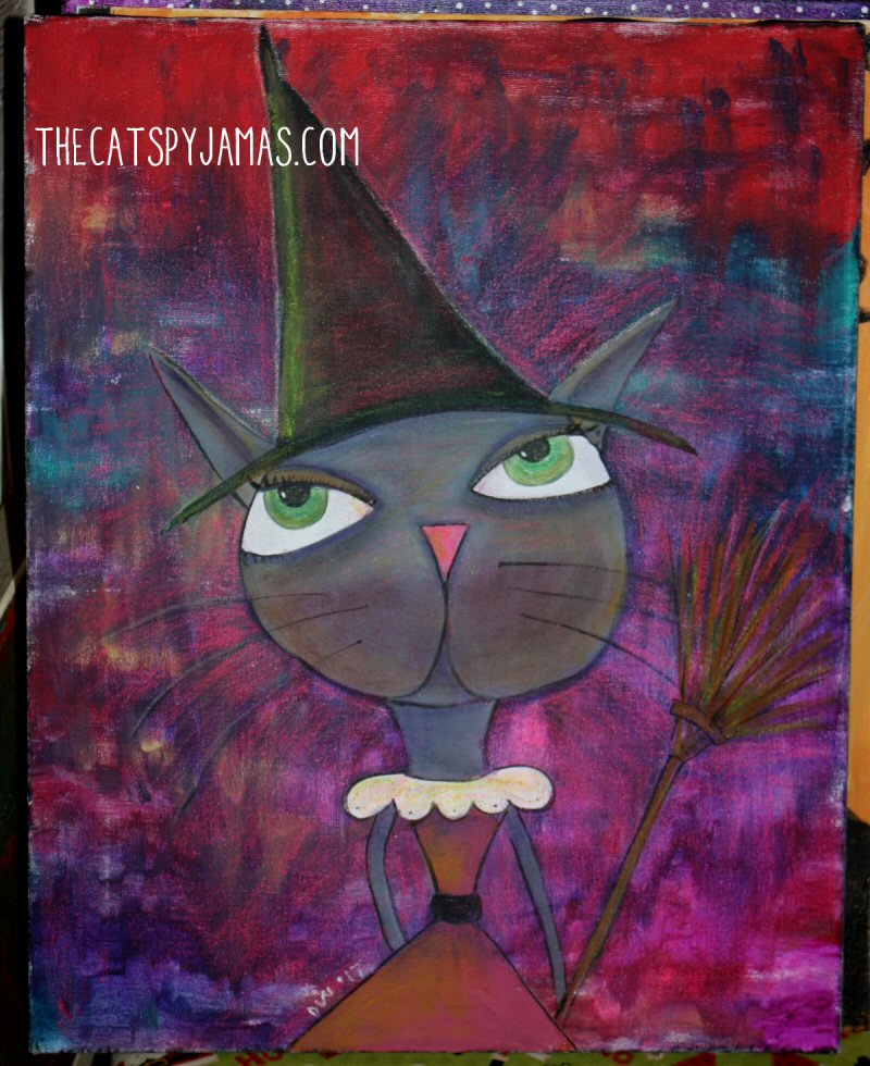 Witchy Cat