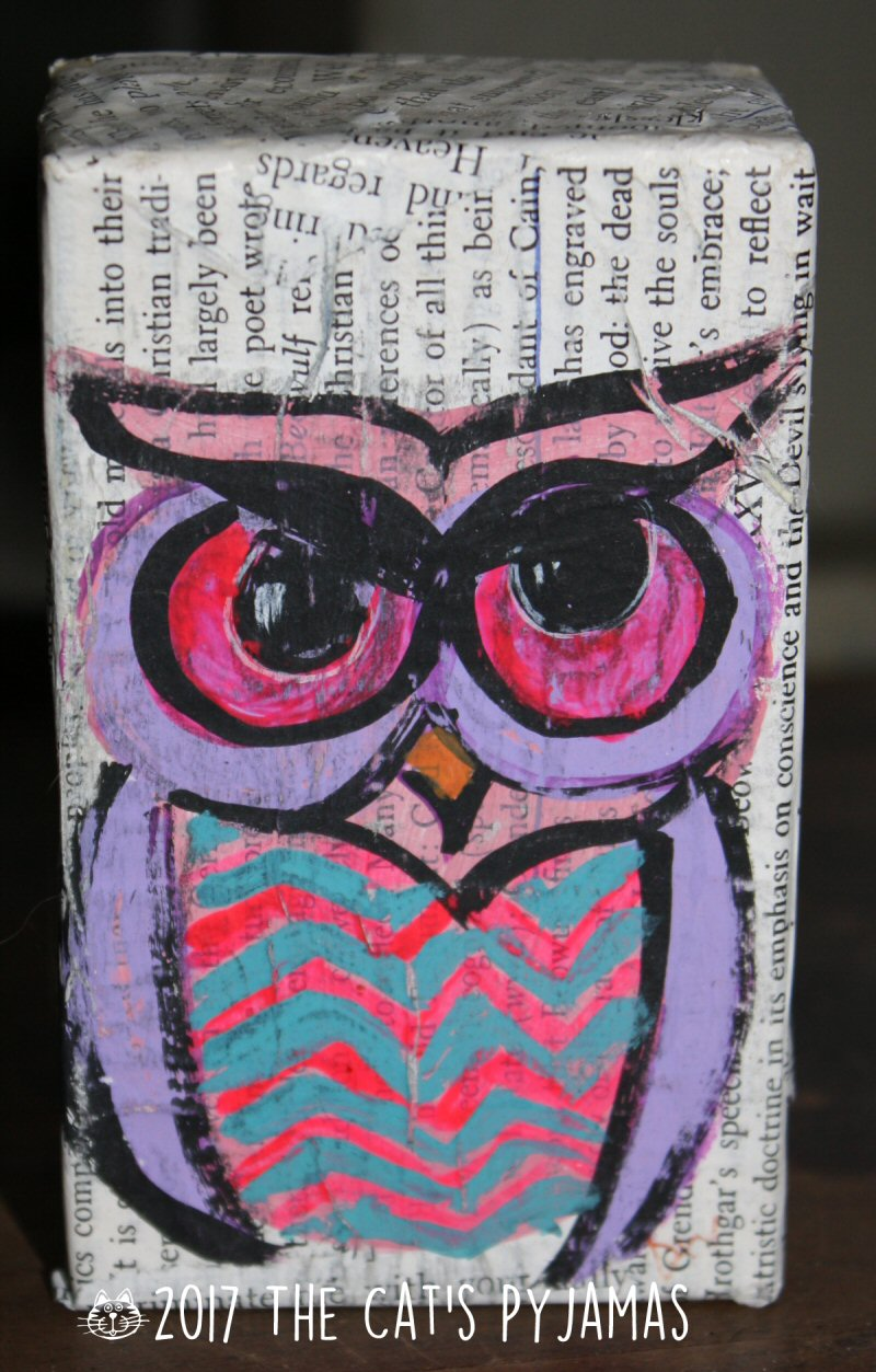 Owl Soap Box