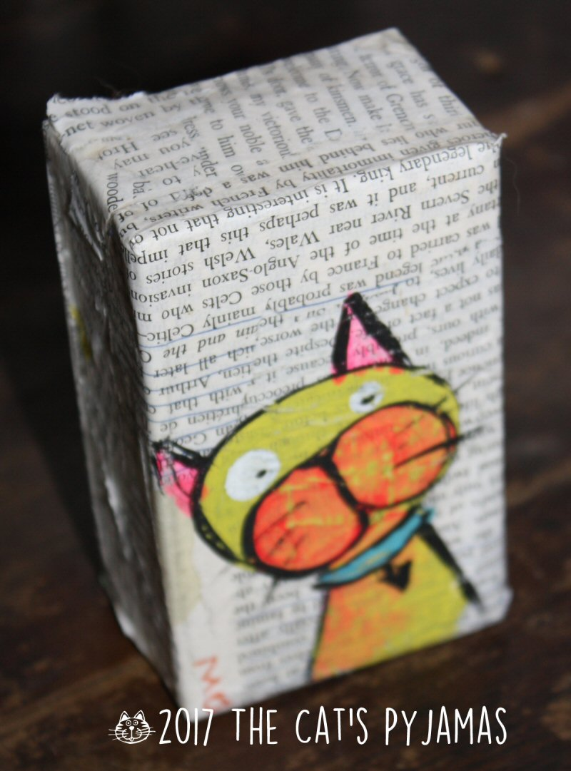 Cat on his Soap Box