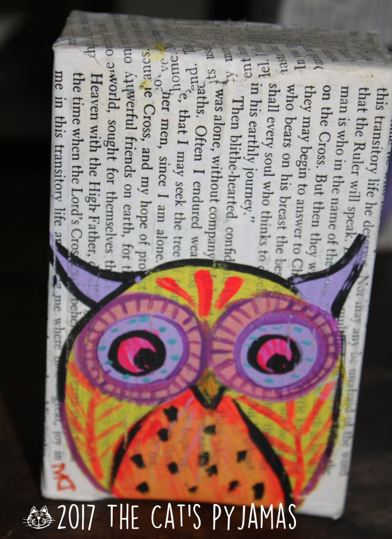 Owl soap Box