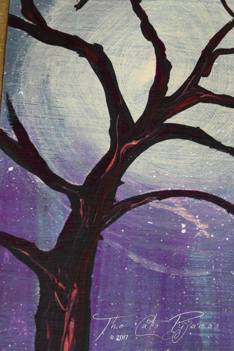 Tree Silouhette Painting