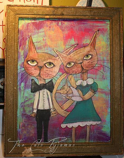 Kitty Cat Family Portrait
