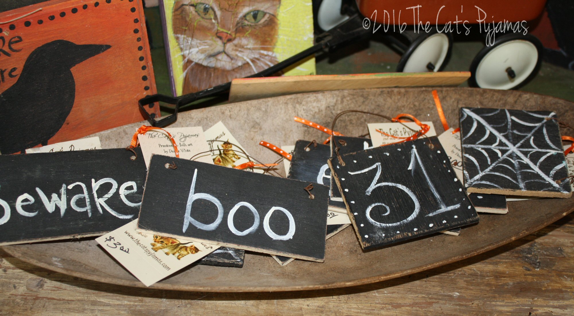 Little Halloween Signs