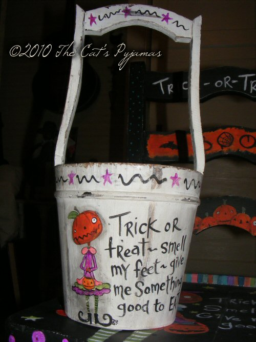 Trick-or-Treat bucket