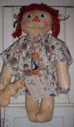 Sugar & Spice Raggedy Ann Doll
