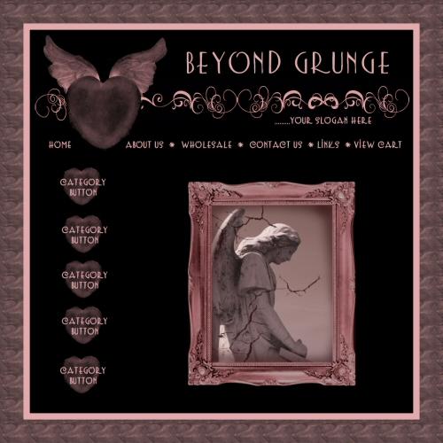 Beyond Grunge Website Graphics