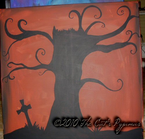 Cemetary painting