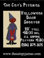 Halloween Door Greeter -- SOLD!!