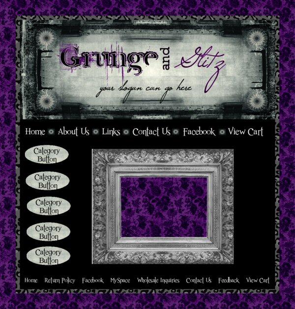 Grunge & Glitz webset