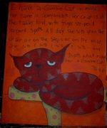 Gumbie Cat Painting
