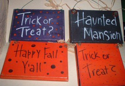 Halloween Signs (2)
