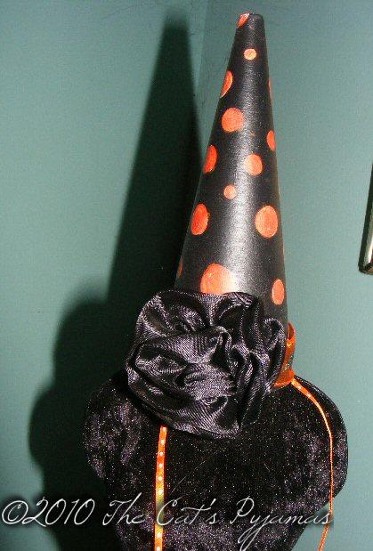 Black Rose party hat