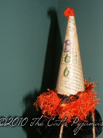 Boo party hat