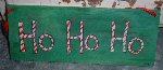Ho, Ho, Ho sign
