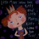 Little Mary & her Kitty