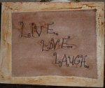 Live, Love, Laugh Stitchery