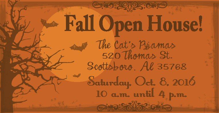Open House Oct. 8, 2016
