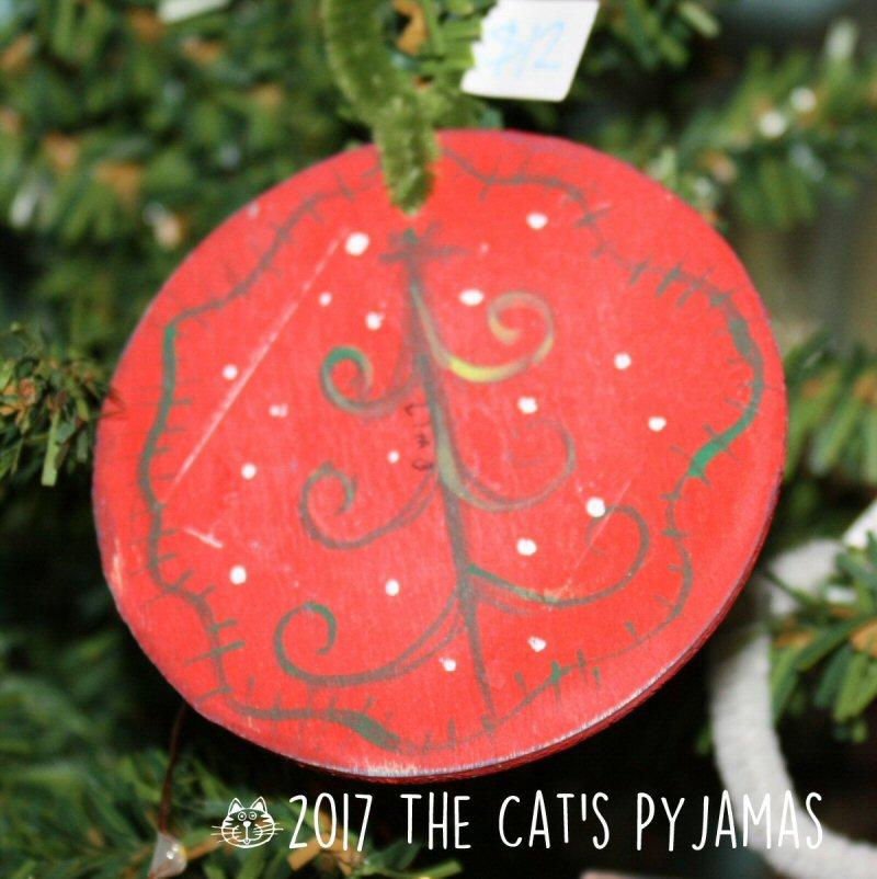 Funky tree ornament