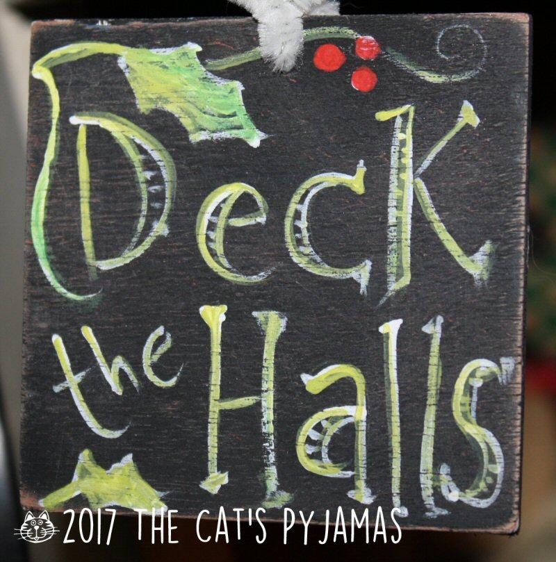 Deck the Halls ornament