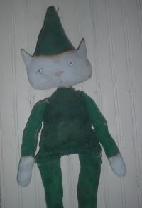 Party Cat in Green