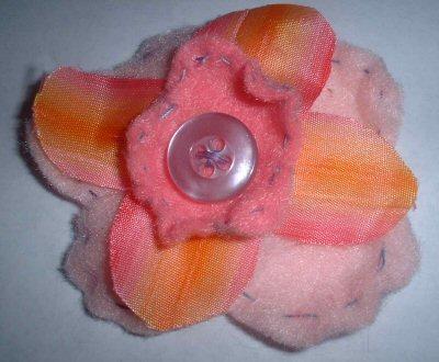 Rainbow Petals Pin