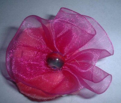 Shimmery Flower Pin
