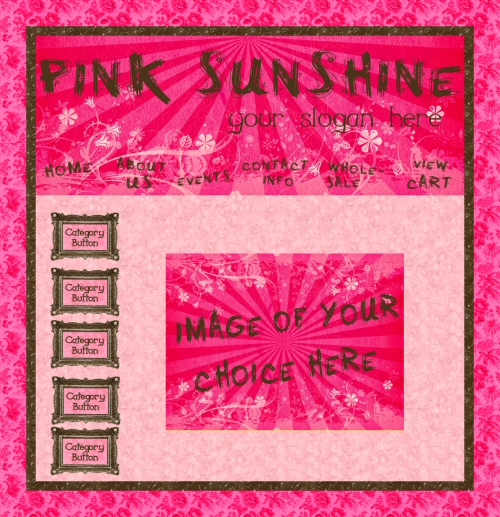 Pink Sunshine Graphics
