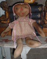 Pink Prairie Doll