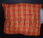 Big Primitive Pillow