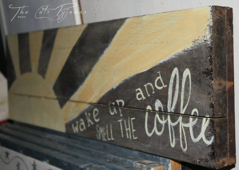Smell the Coffee sign