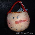 Snowman Gourd Bowl