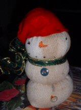Sock Snowman 3